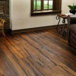 Hardwood flooring displayed in house.