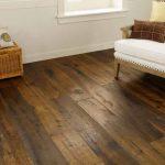 Hardwood flooring shown in room.